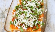 Chipotle Cauliflower sauce, Mushroom, Spinach, Marinara, Jalapeno garlic Havarti Lasagna
