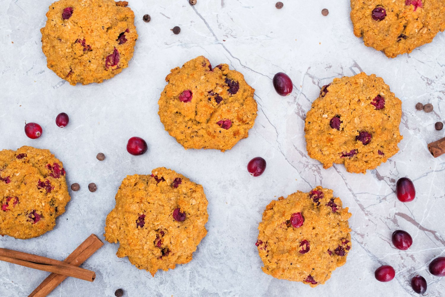 Pumpkin Cranberry Cookies – Plant-Based Vegan Recipe | Vegan Coyote